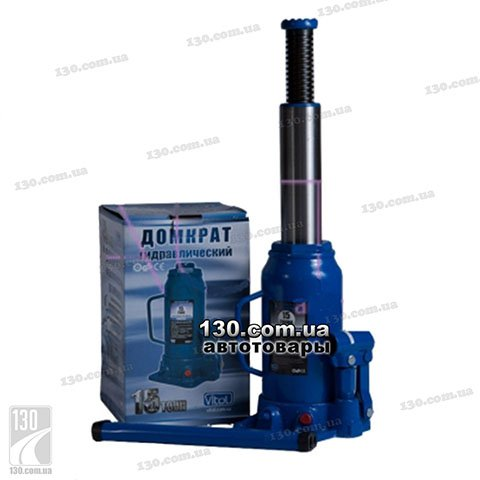 Hydraulic bottle jack Vitol DB-15002 15 t