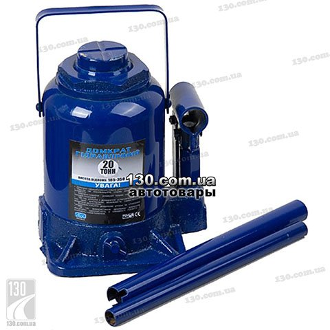 Hydraulic bottle jack Vitol DB-20002 20 t