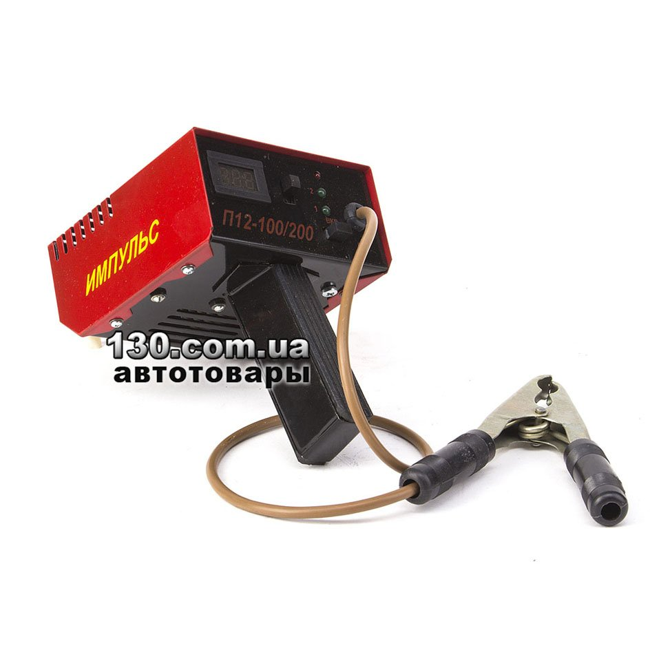 Імпульс П12-100 200 — купити тестер акумуляторних батарей (навантажувальна  вилка) — 100   200 А c15ac372963c8