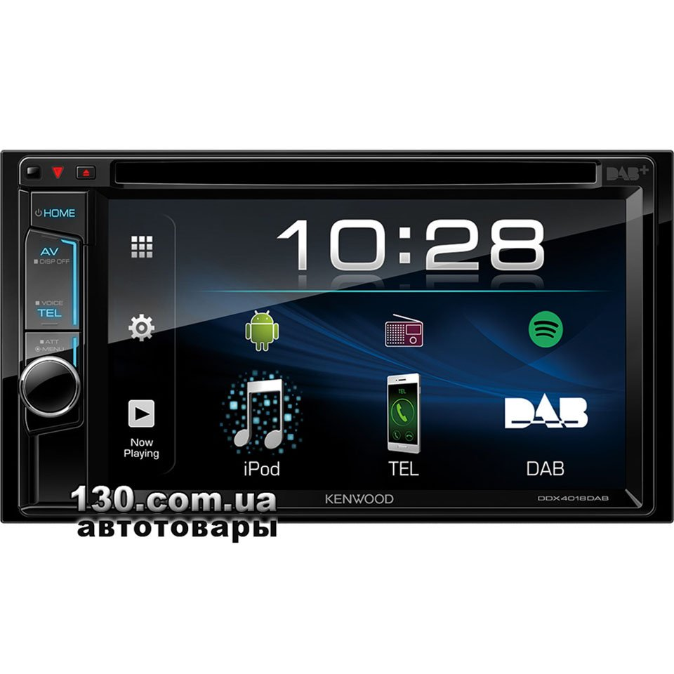 Kenwood DDX4018BT — купити DVD USB автомагнітолу з вбудованим DSP і  Bluetooth 906358a7c8046