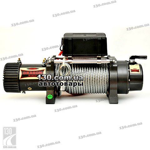 Лебедка Dragon Winch DWH 10000 HD 12 В, 4,53 т, Highlander Series