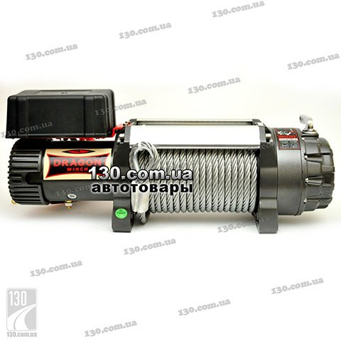 Лебедка Dragon Winch DWH 15000 HD 12 В, 6,8 т, Highlander Series