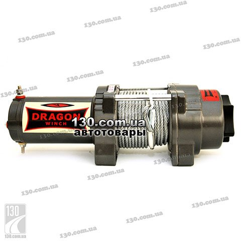 Лебедка Dragon Winch DWH 4500 HD 12 В, 1,58 т, Highlander Series