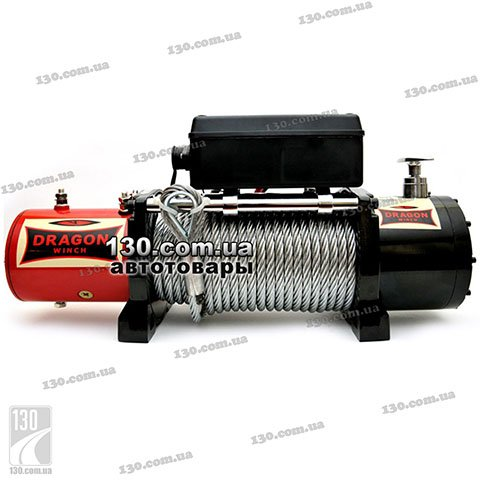 Dragon Winch DWM 10000 HD — купить лебедку 12 / 24 В, 4,53 т, Maverick Series