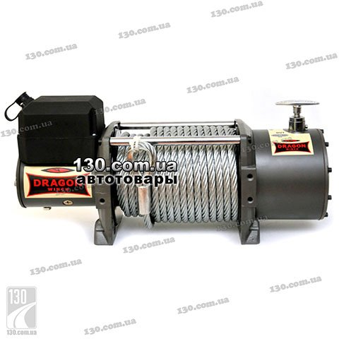 Лебедка Dragon Winch DWT 15000 12 / 24 В, 6,45 т, Truck Series