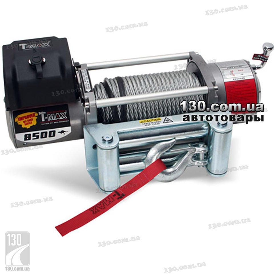 Лебедка T-MAX EW-8500 12 В 3,85 т Improved Offroad Series