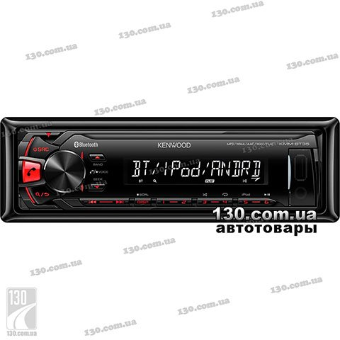 Медиа-ресивер Kenwood KMM-BT35 с Bluetooth