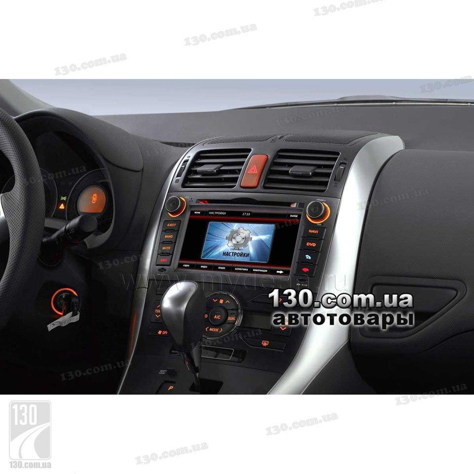 Штатная магнитола для Toyota Auris - MyDean 7133.