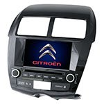 Native reciever Roadrover C4 Aircross with GPS navigation and Bluetooth + 3G modem for Citroen