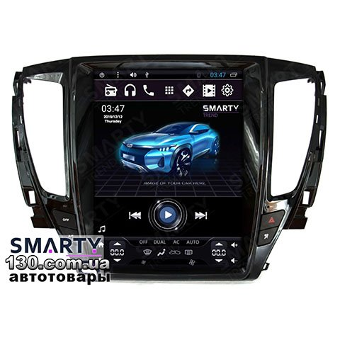 SMARTY Trend ST8UT-516K12119 Tesla Style — buy native reciever Android for Mitsubishi