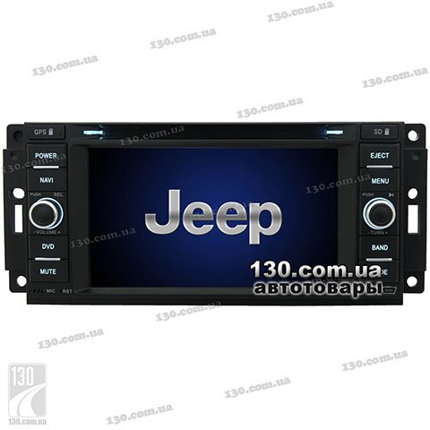 Native reciever nTray 6633 with GPS navigation and Bluetooth for Jeep