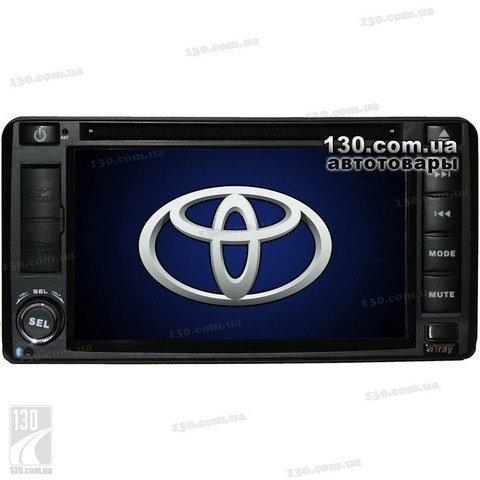 Native reciever nTray 6781 with GPS navigation for Toyota, Lexus