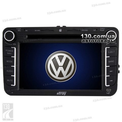 Native reciever nTray 7166 with GPS navigation for Volkswagen