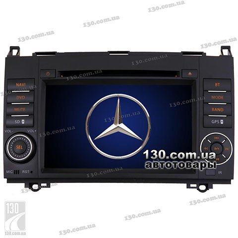Native reciever nTray 7738 with GPS navigation and Bluetooth for Mercedes-Benz