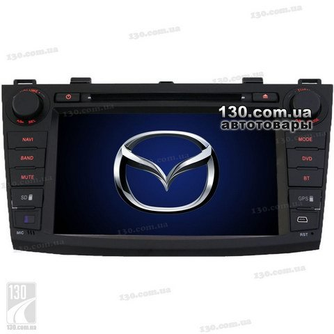 Native reciever nTray 8732 with GPS navigation for Mazda