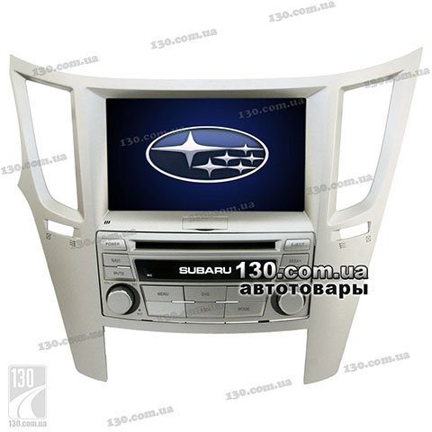 Native reciever nTray 8758 with GPS navigation and Bluetooth for Subaru Outback