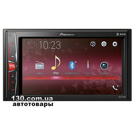 Медиа-станция Pioneer MVH-A210BT с Bluetooth и поддержкой Android Mirroring