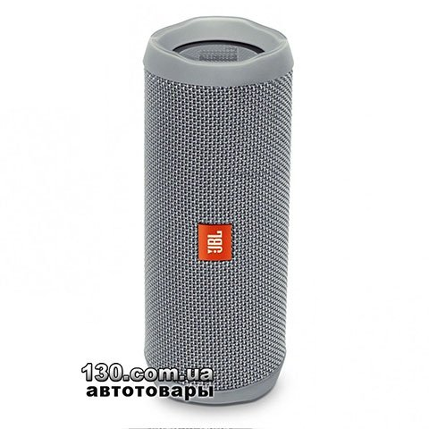 Portable speaker JBL Flip 4 Gray (JBLFLIP4GRY)