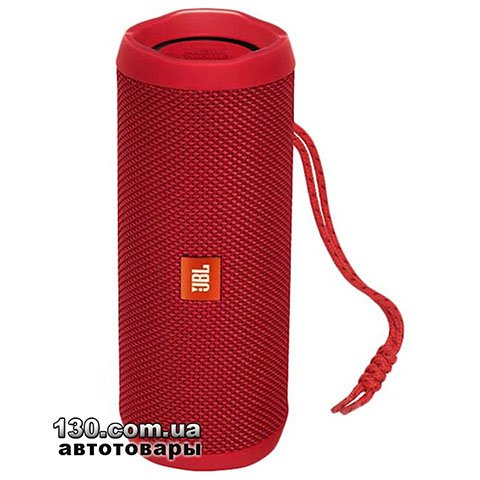 Portable speaker JBL Flip 4 Red (JBLFLIP4RED)