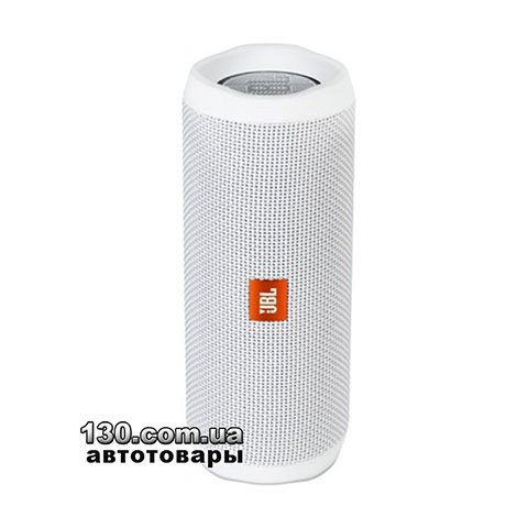 Portable speaker JBL Flip 4 White (JBLFLIP4WHT)