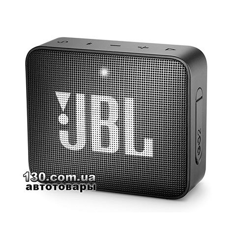 Portable speaker JBL Go 2 Black (JBLGO2BLK)
