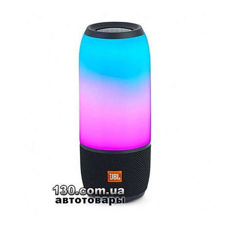 Portable speaker JBL Pulse 3 Blue (JBLPULSE3BLKEU)
