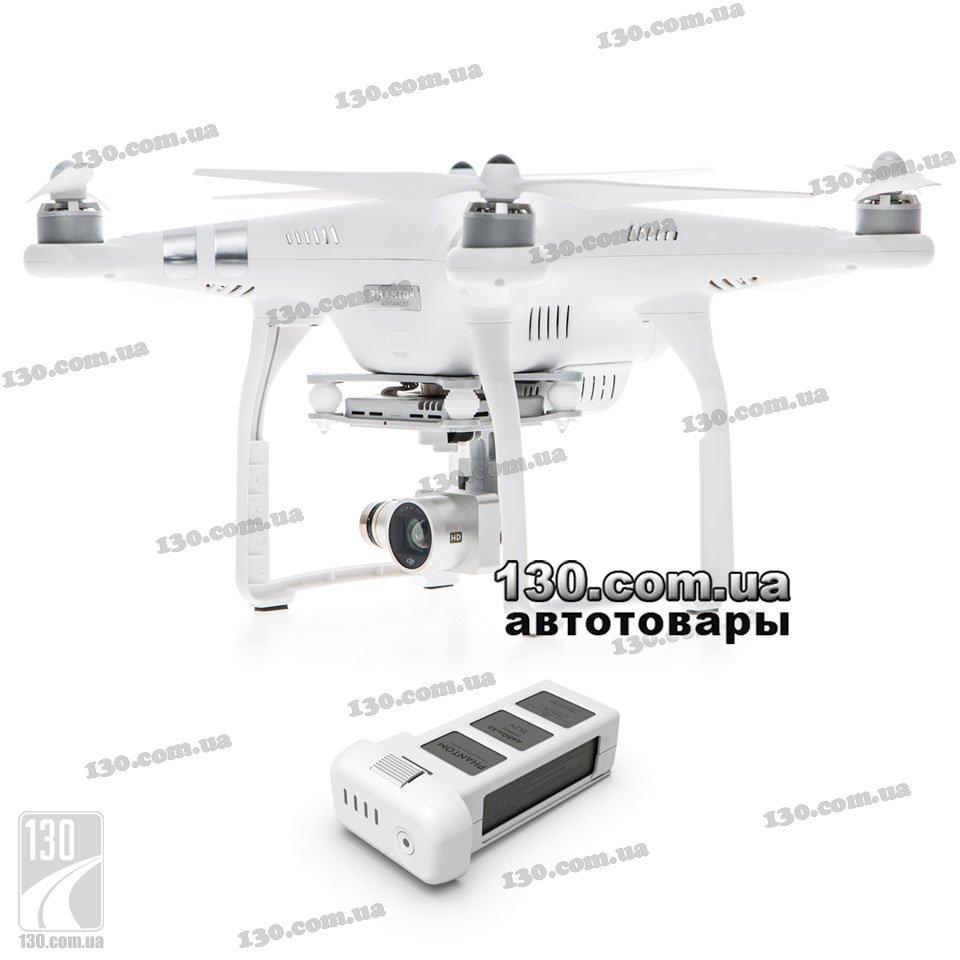 Квадрокоптер DJI Phantom 3 Advanced (P3A+P3B) с камерой и дополнительным  аккумулятором