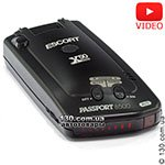 Radar detector Escort Passport 8500 X50 INTL