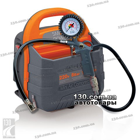 Компрессор (насос) Berkut Smart Power SAC-180 220 В с пневмопистолетом и манометромом