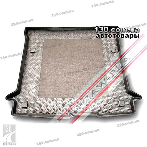 Rubber boot mat Rezaw-Plast RP 101366 for Renault Dacia Dokker (5 Seats) 2012
