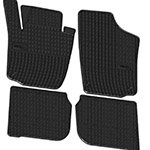 Rubber floor mats Elegant 200 364 for Skoda Rapid