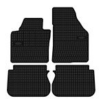 Rubber floor mats Elegant 200 391 for Volkswagen CADDY 5os