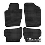 Rubber floor mats Elegant 200 394 for Volkswagen Polo V