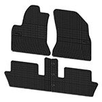 Rubber floor mats Elegant 200 636 for Citroen C4 Picasso