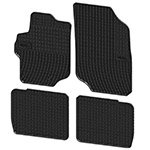 Rubber floor mats Elegant 200 643 for Citroen C-Elysee, Peugeot 301