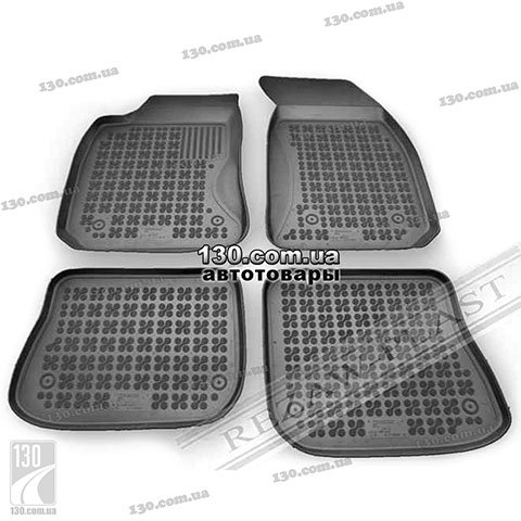 Rubber floor mats Rezaw-Plast 200310 for Audi A4