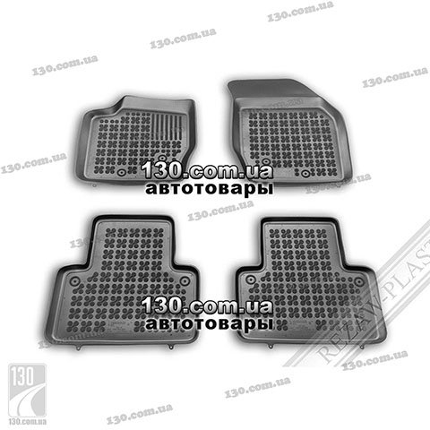 Rubber floor mats Rezaw-Plast 200405 for Volvo XC90