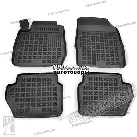 Rubber floor mats Rezaw-Plast 200602 for Ford Fiesta 7