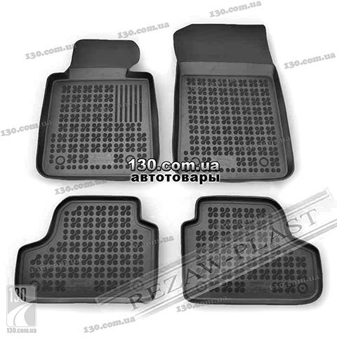 Rubber floor mats Rezaw-Plast 200706 for BMW 3 Series (E90/E92) Cabrio