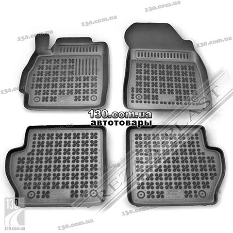 Rubber floor mats Rezaw-Plast 200808 for Mazda 2 2
