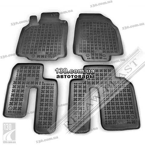 Rubber floor mats Rezaw-Plast 200809 for Mazda CX9