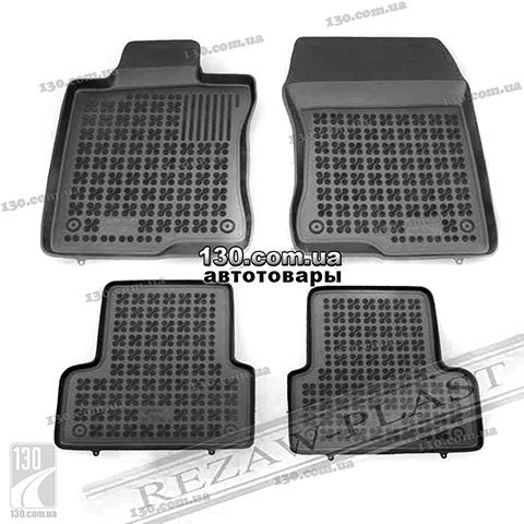 Rubber floor mats Rezaw-Plast 200901 for Honda Accord