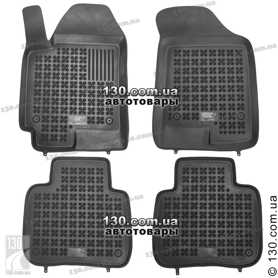 Floor mats kia - Rezaw Plast 201009 Rubber Floor Mats For Kia Cerato