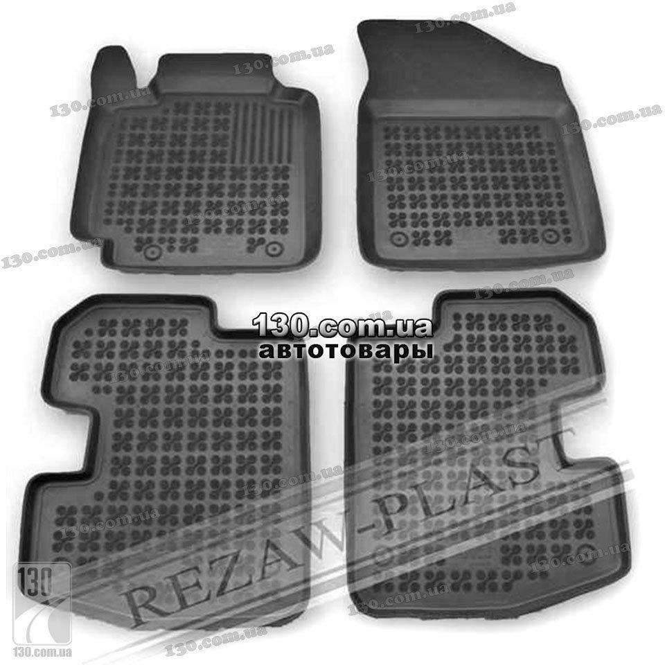 Toyota Floor Mats >> Rubber Floor Mats Rezaw Plast 201417 For Toyota Yaris 1 3d
