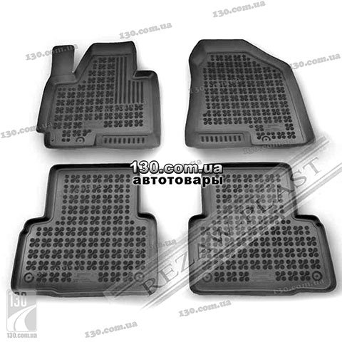 Rubber floor mats Rezaw-Plast 201607 for Hyundai ix35