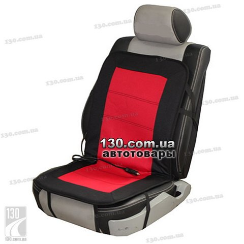 Seat heater (cover) Vitol H96023RD black-red