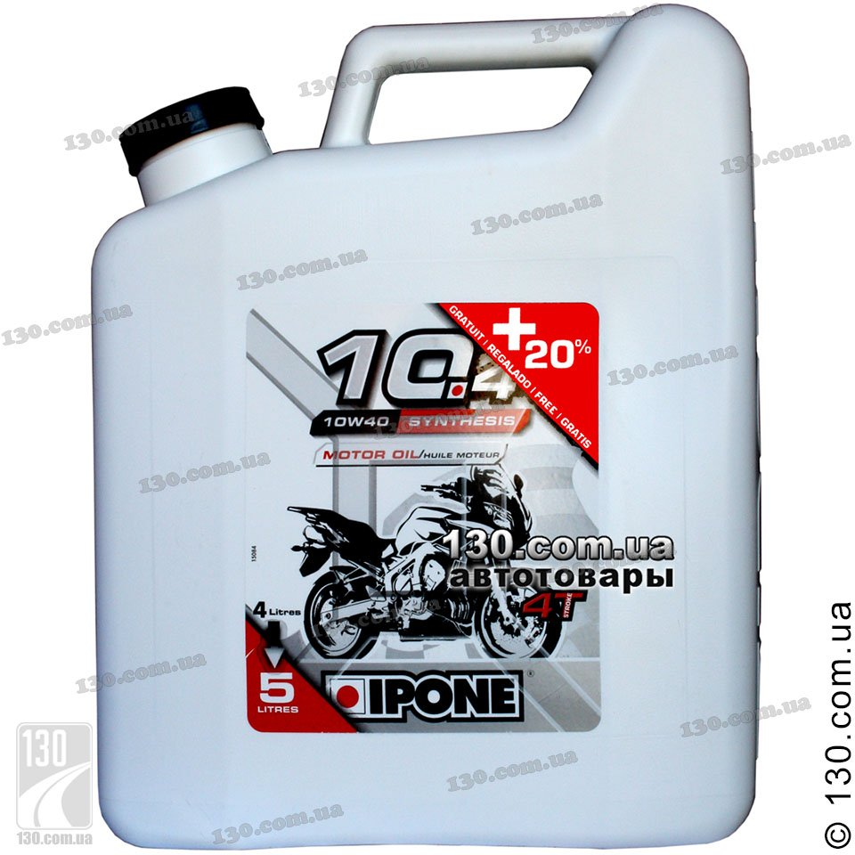Ipone 10 4 10w 40 Semi Synthetic Motor Oil 4 L For 4