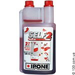 Semi-synthetic motor oil Ipone Self 2 — 1 L for 2-stroke motorcycles