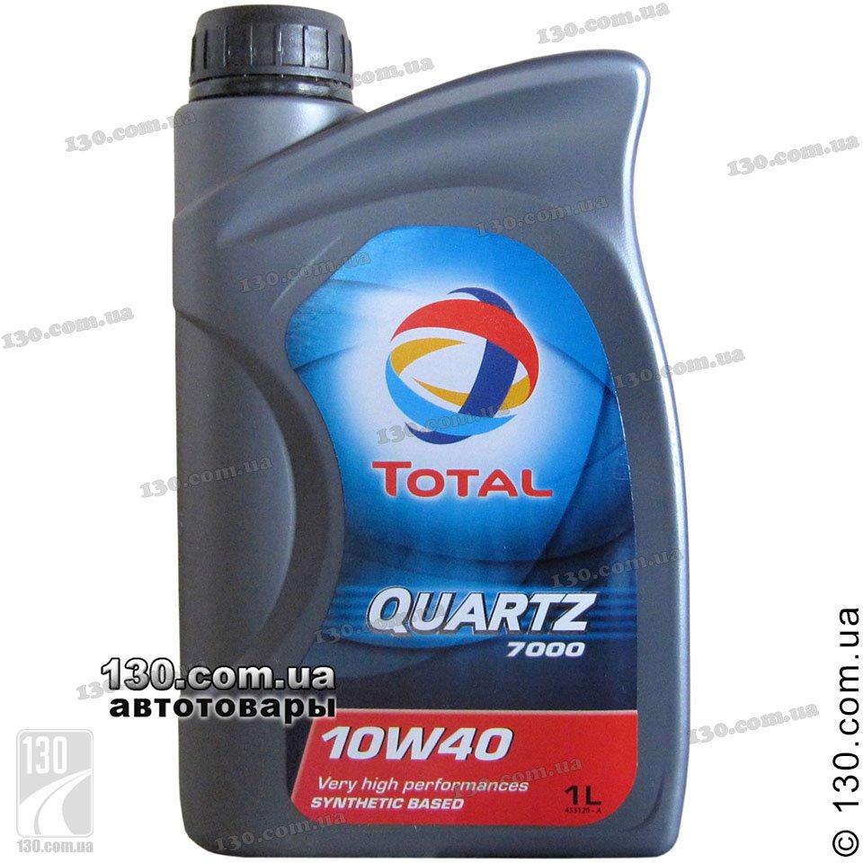 Моторное масло Total Quartz 7 1 W-4 1L описание, цена, где