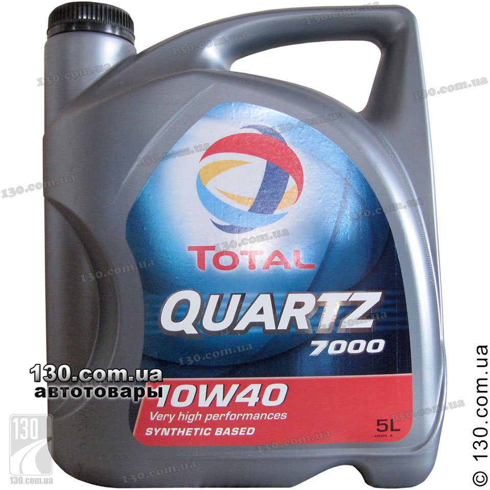 Моторное масло TOTAL QUARTZ 7 1 W4 (5L) - Maslon66